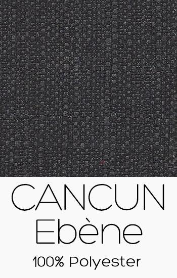 Tissu Cancun Ébène