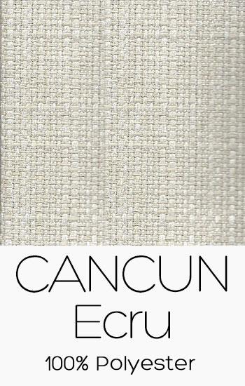 Tissu Cancun Ecru