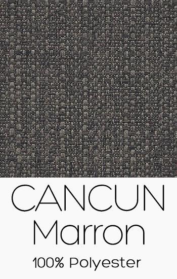 Tissu Cancun Marron
