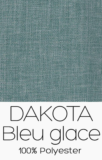 Tissu Dakota Bleu Glace