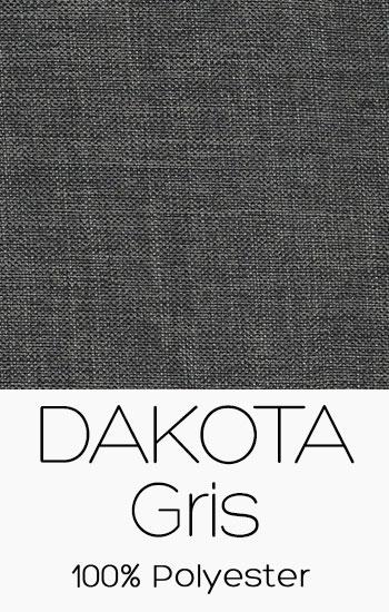 Tissu Dakota Gris