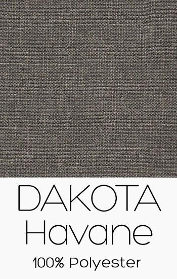 Tissu Dakota Havane