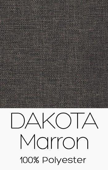 Tissu Dakota Marron