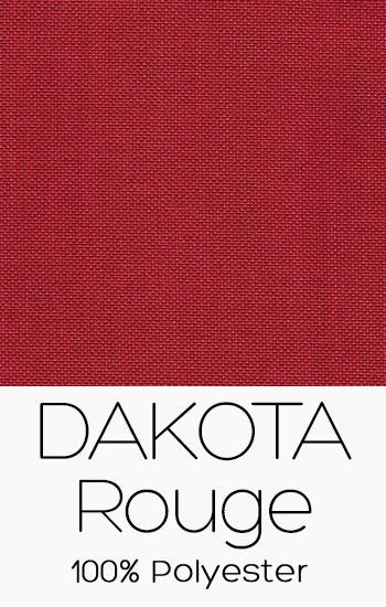 Tissu Dakota Rouge