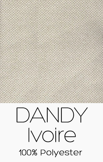 Tissu Dandy Ivoire