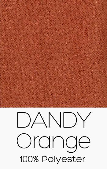 Tissu Dandy Orange