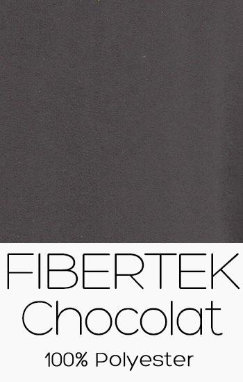 Tissu Fibertek Chocolat