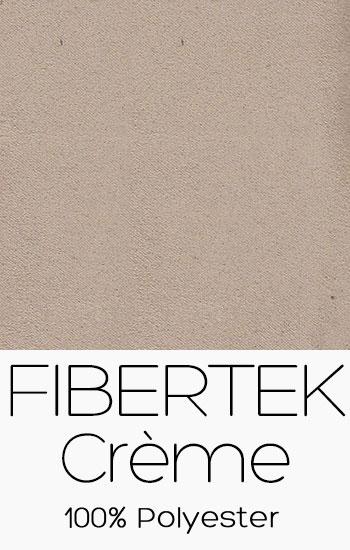 Tissu Fibertek Crème
