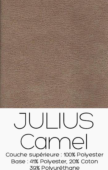 Tissu Julius Camel