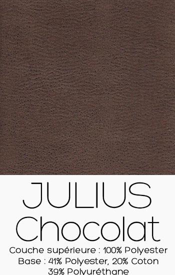 Tissu Julius Chocolat