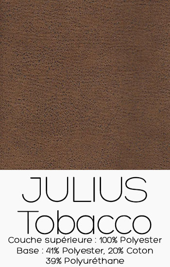 Tissu Julius Tobacco