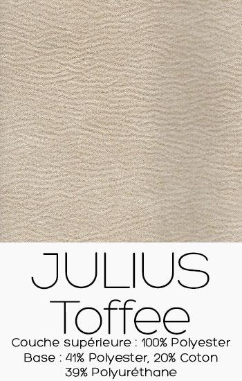 Tissu Julius Toffee