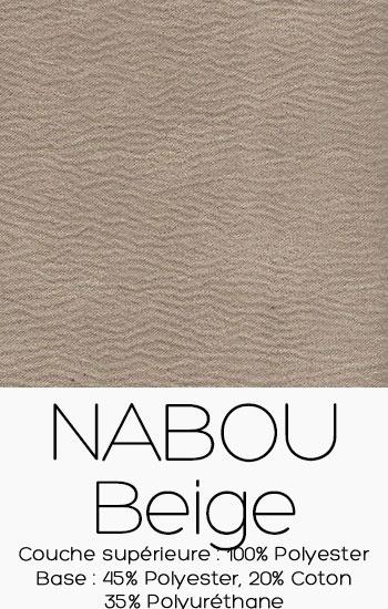 Tissu Nabou Beige