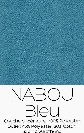 Tissu Nabou Bleu