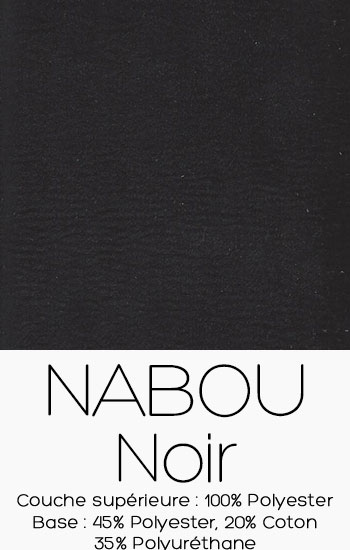 Tissu Nabou Noir