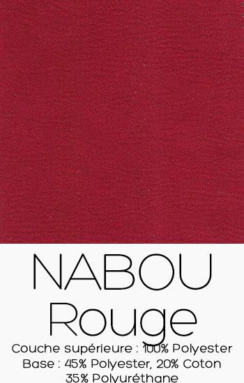 Tissu Nabou Rouge