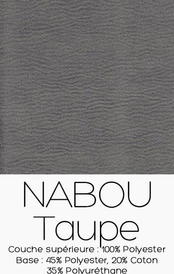 Tissu Nabou Taupe