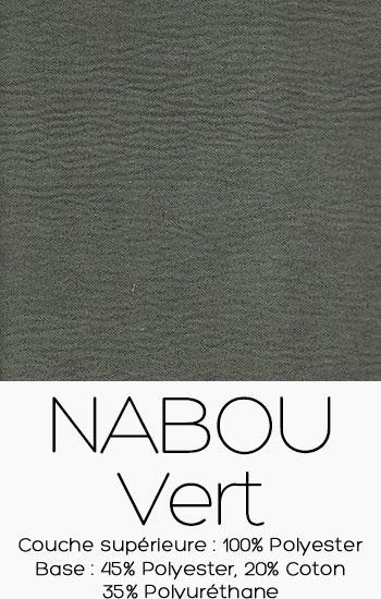 Tissu Nabou Vert