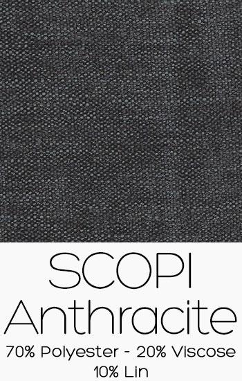 Tissu Scopi Anthracite