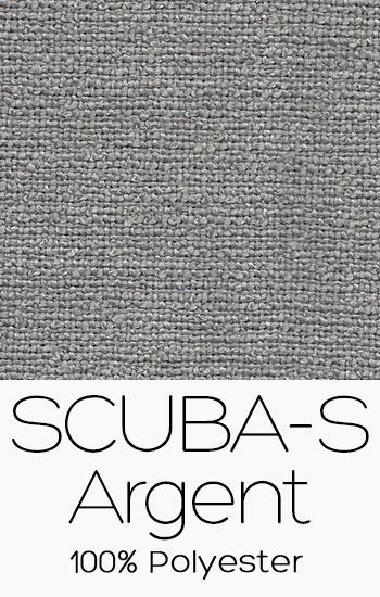 Tissu Scuba S Argent