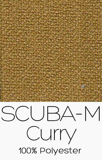 Tissu Scuba M Curry