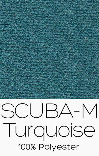 Tissu Scuba M Turquoise