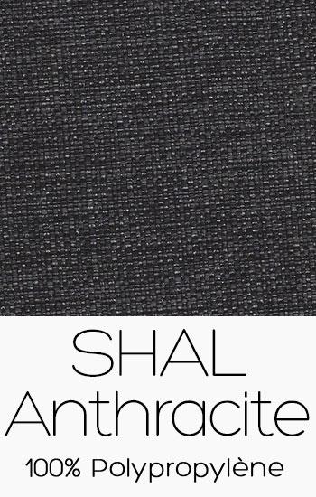 Tissu Shal Anthracite