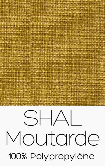 Tissu Shal Moutarde