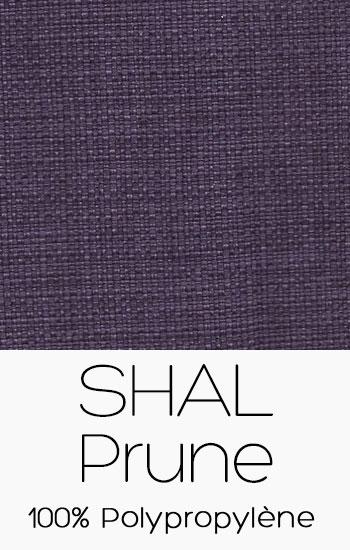 Tissu Shal Prune