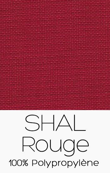 Tissu Shal Rouge