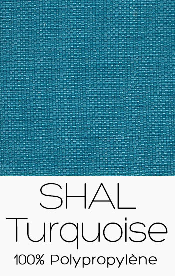 Tissu Shal Turquoise