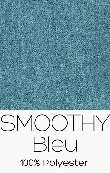 Tissu Smoothy Bleu