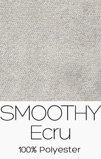 Tissu Smoothy Ecru