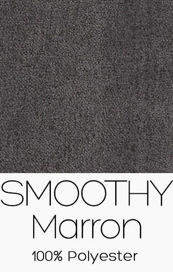 Tissu Smoothy Marron