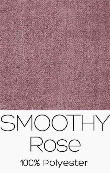 Tissu Smoothy Rose