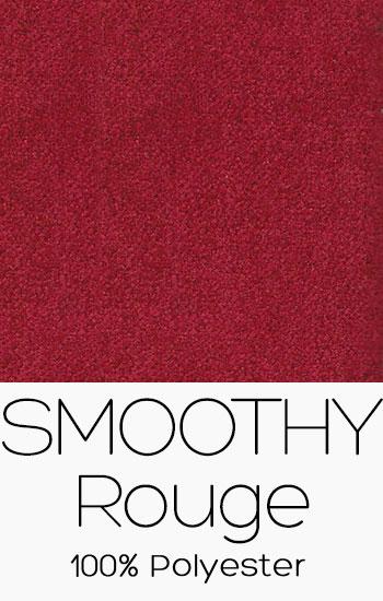 Tissu Smoothy Rouge