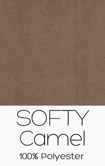 Tissu Softy Camel