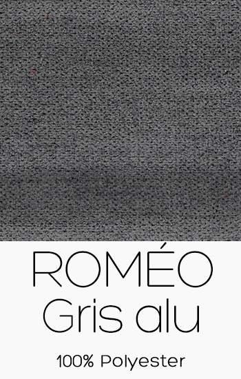 Roméo Gris Alu
