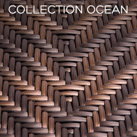 Collection Ocean de la gamme Weave, par Alexander Rose