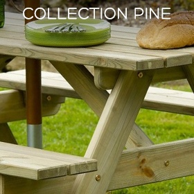 Collection Pine de la gamme Timber, par Alexander Rose