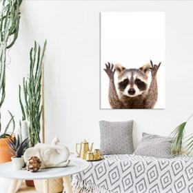 Toiles imprimées thématiques animaux