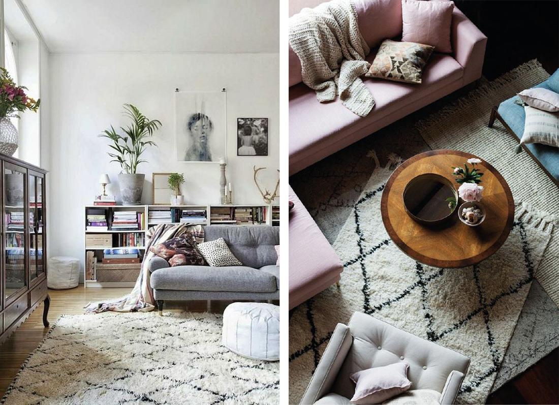 Tapis Et Canapé D Angle quel tapis pour quel style de déco ? - decostock