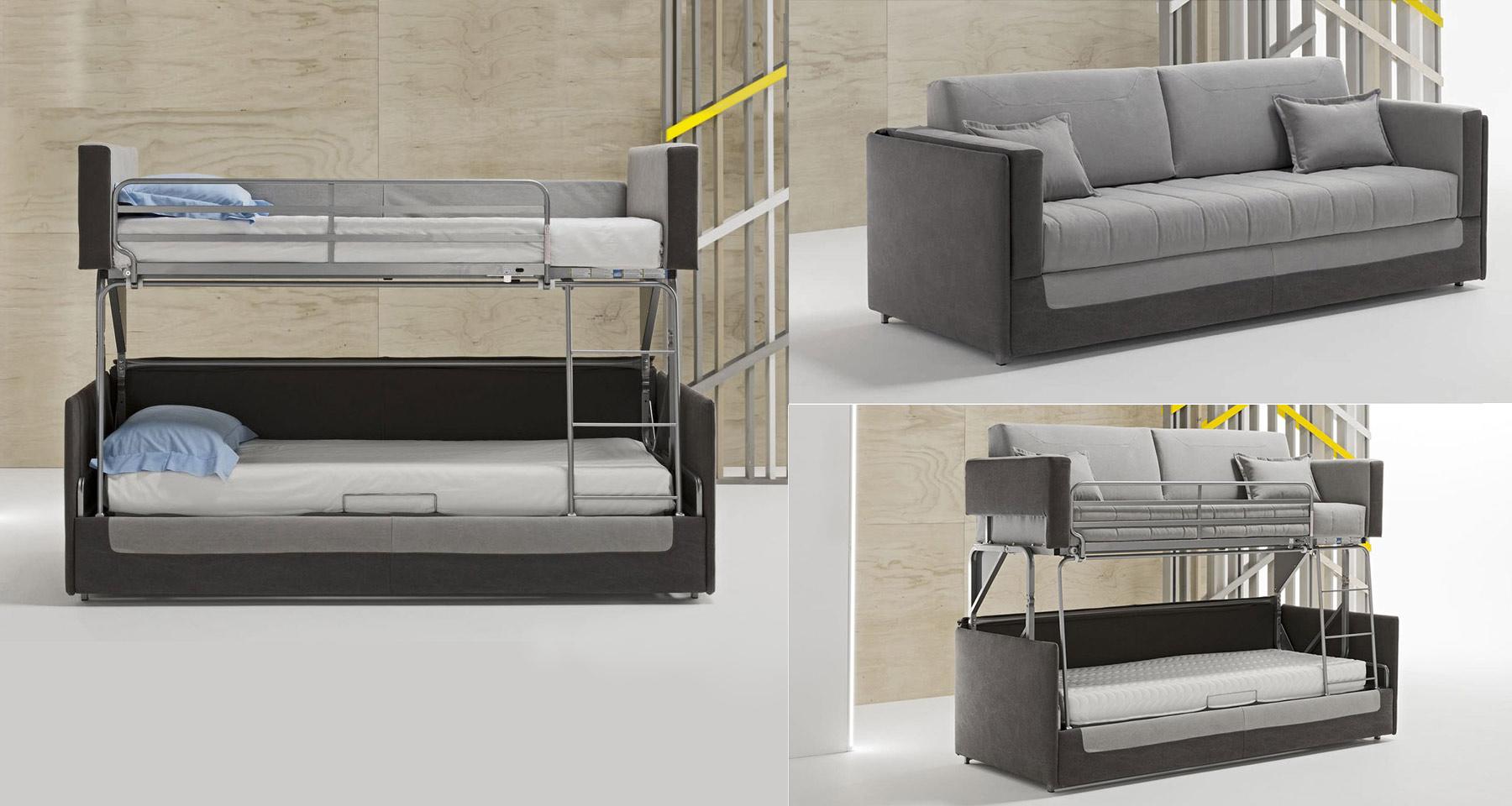 Canapé-lit superposé Bibione par Dienne