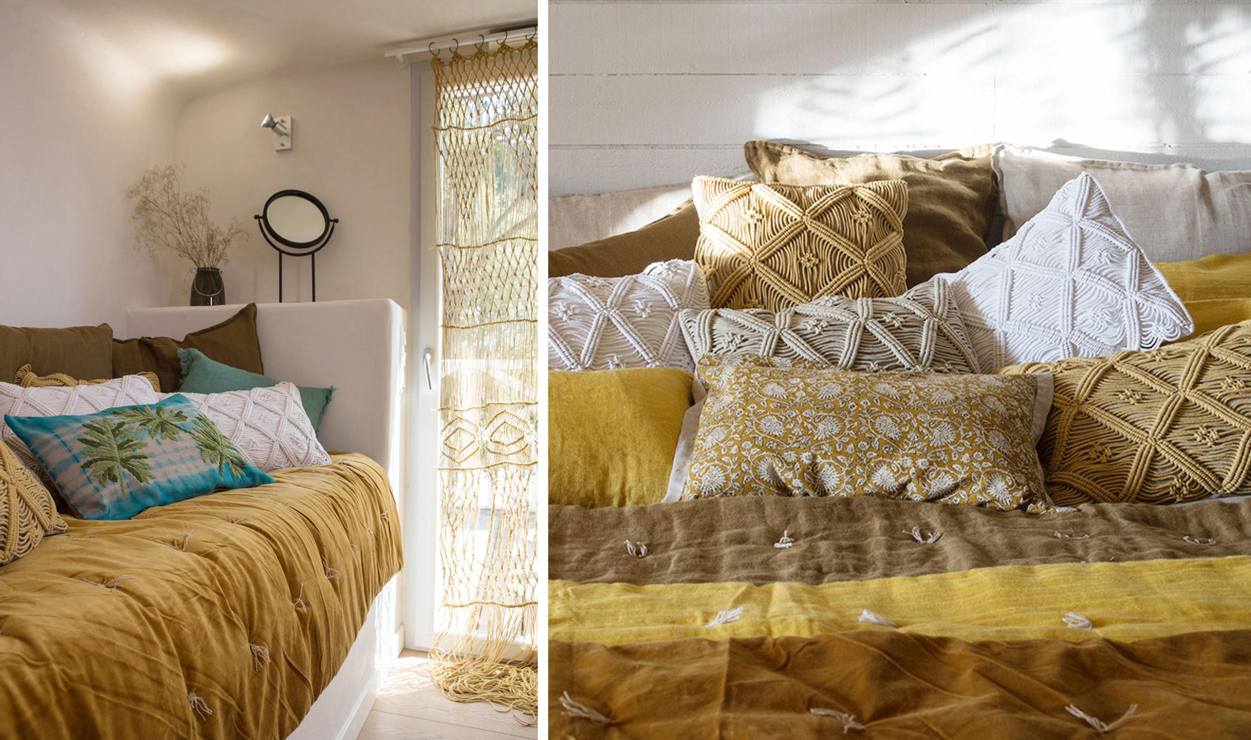 En Fil d'Indienne décoration textile lin