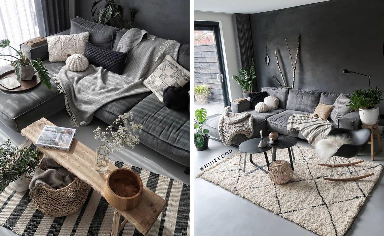 Salon accueillant et textures chaleureuses