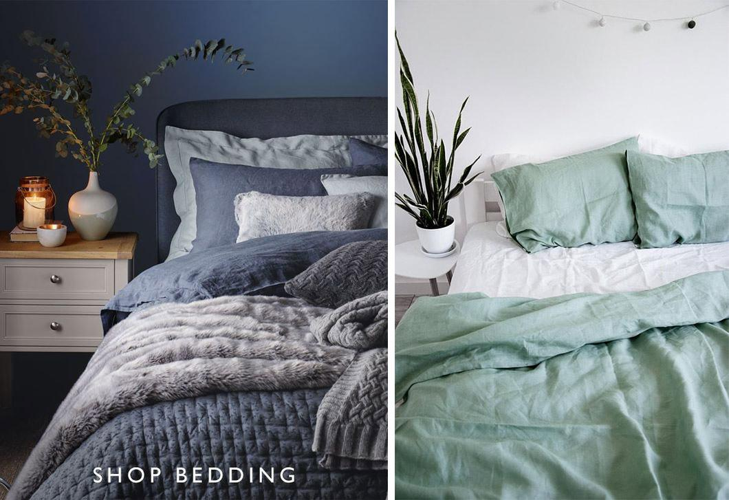 Parure de lit selon la saison : couleurs et matières