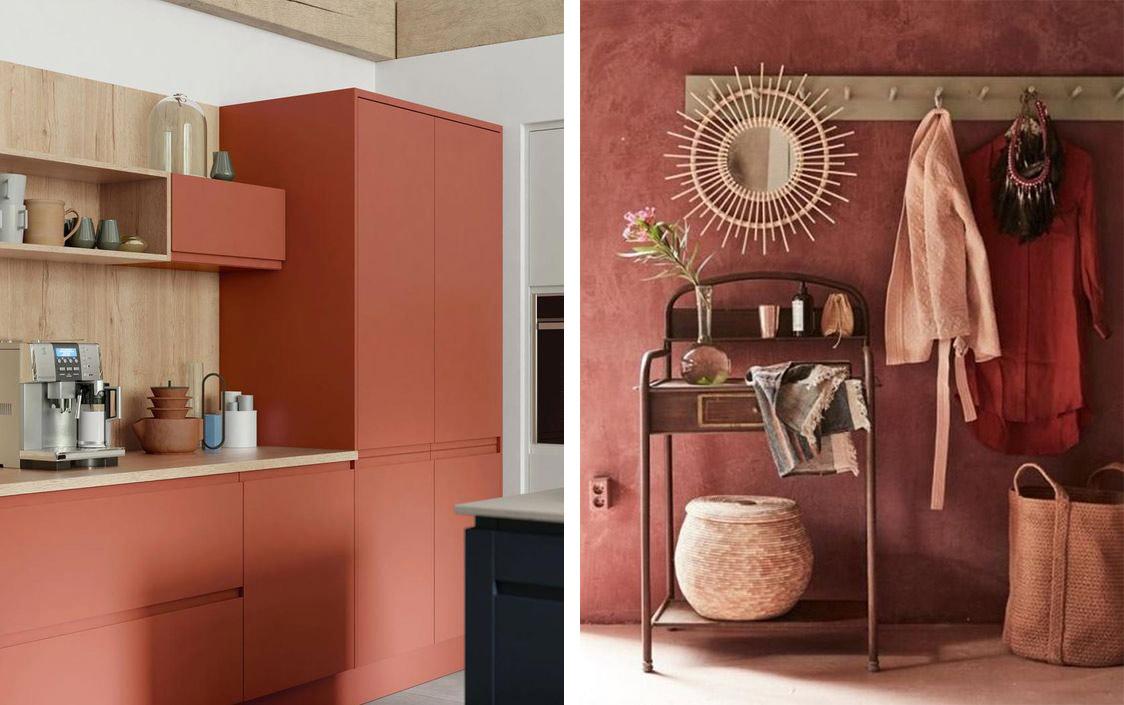 Peinture Couleur Terre Cuite terracotta : la tendance terre cuite et une parution chez