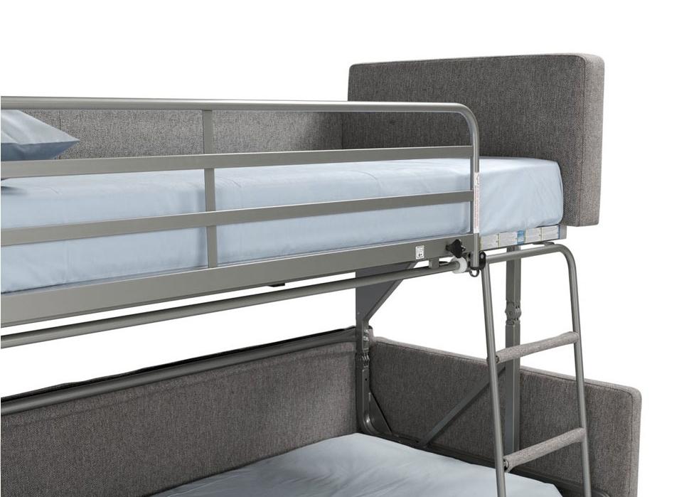 Canapé-lits superposés sécurisés Dienne