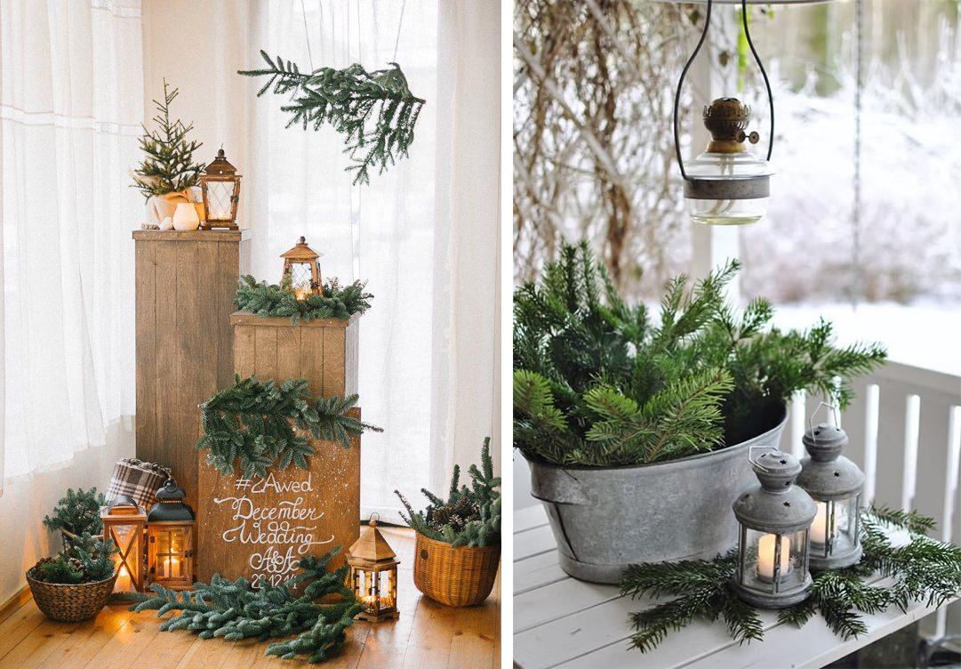 Accessoires vintage décorations Noël