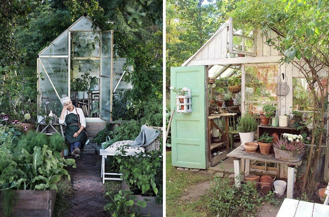 Potager Murale Pour Tres Peu Place une serre dans le jardin : poésie et rêves de jardinier